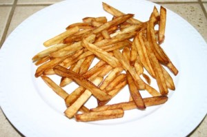 Golden Brown French Fries Recipe