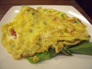 Western Omelet Recipe . A western omelet includes chopped green ...
